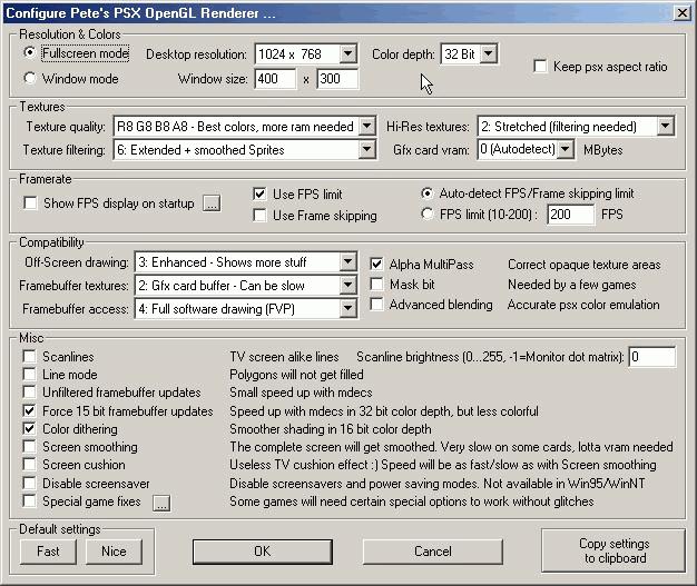 Как настроить кнопки в эмуляторе epsxe
